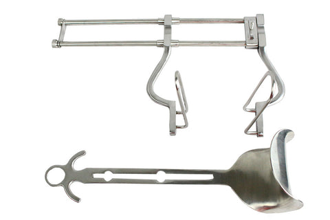 "Bdeals Balfour Abdominal Retractor 10"" Stainless Steel Veterinary Surgical Instr"
