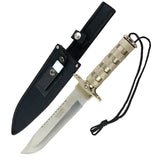 "Defender 14""Wholesale Survival Knife Stainless Steel Blade with Sheath Heavy Duty"