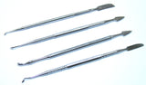 "Bdeals 4PC 6"" Dule Tip Dental Pick Tool Stainless Steel Multi Use"