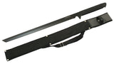 "26"" Stainless Steel Ninja Black Full Tang Ninja Sword with Sheath"