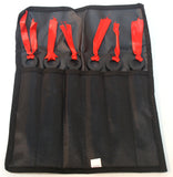 "Defender 6"" Throwing Knives 6pc Set with Sheath New"