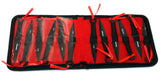 "Defender 6.5"" Throwing Knives Set 12pc with Gift Case"