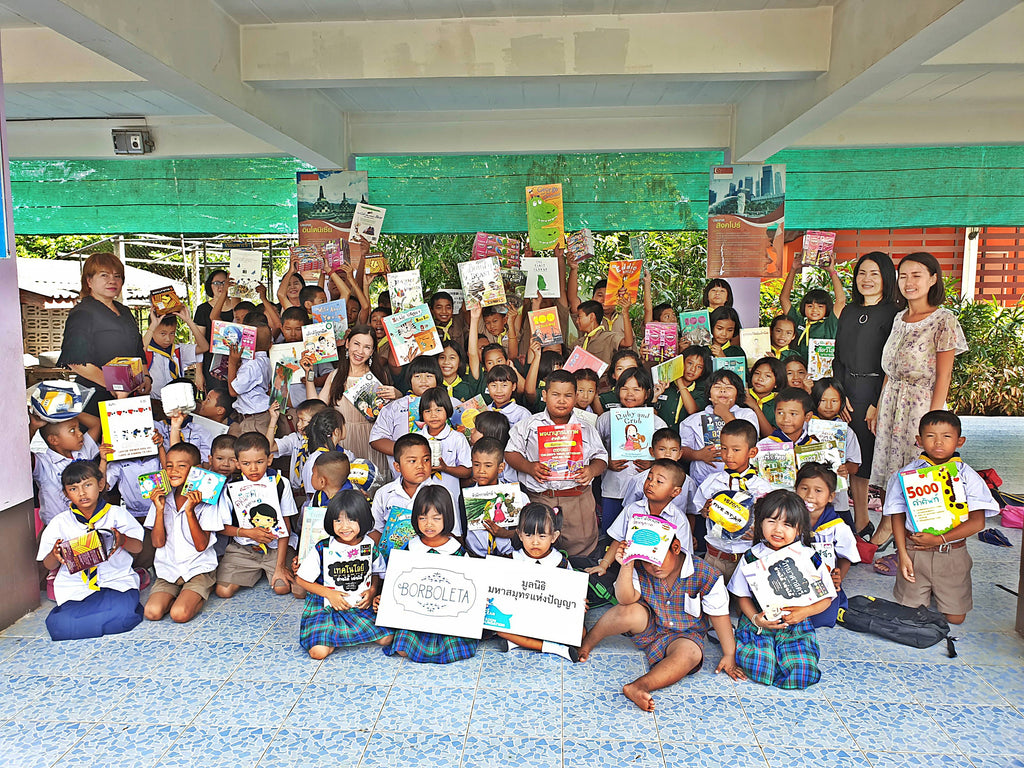 Donations from Borboleta to 18 Rural Schools