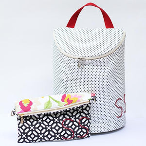 Personalized Clutch and Customizable bags / backpack