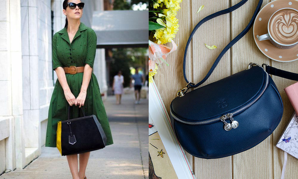 Colors combonation: forest green and navy blue