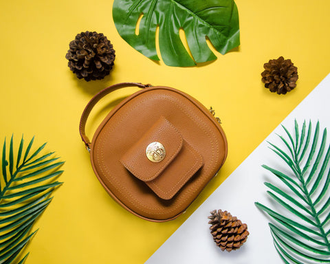 Cruelty free bag made of vegan leather