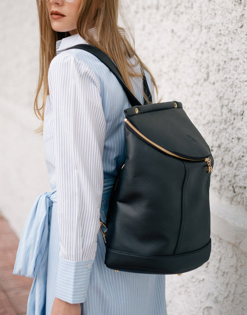 Demilune Vegan Leather Backpack