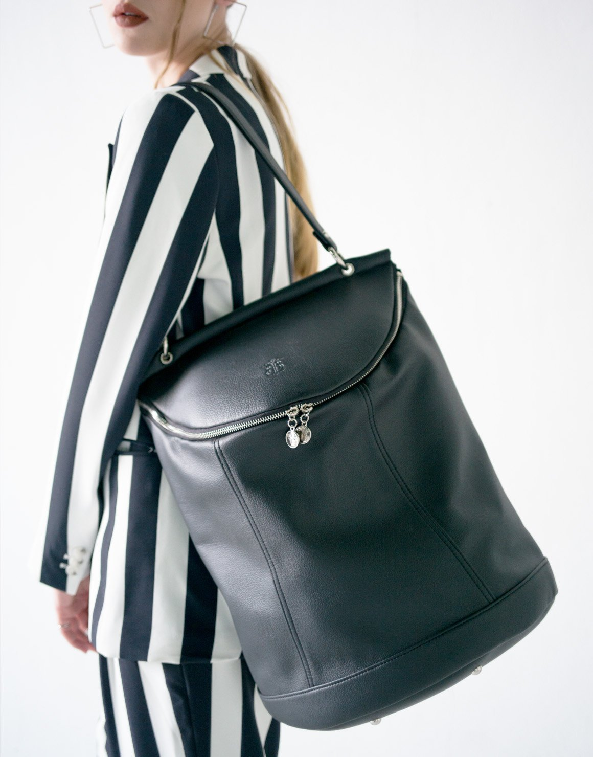 Demilune Backpack by Borboleta