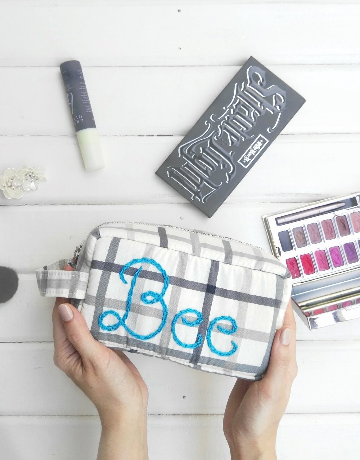 Personalized BFF Makeup Bag
