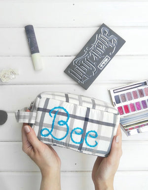 BFF Travel Makeup Bag by Borboleta