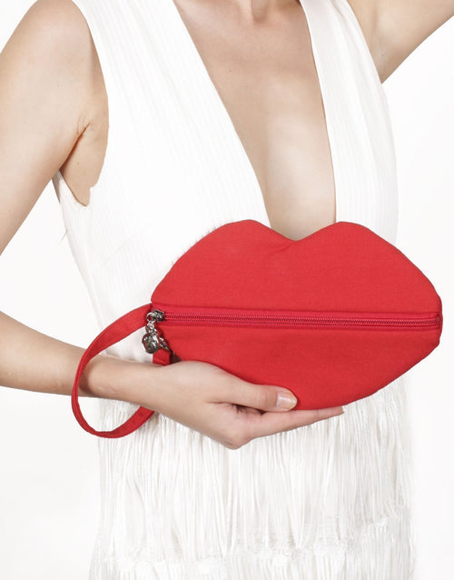 Sealed with a Kiss Clutch / Crossbody by Borboleta