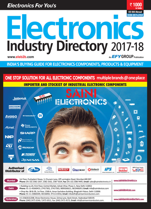EFY's Electronics Industry Directory (EID) 2017-18