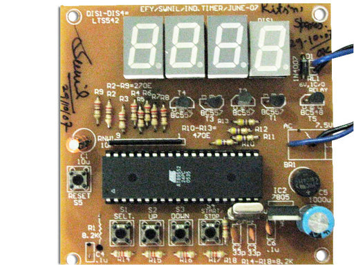 Microcontroller Based Water Level Controller cum Motor Protector