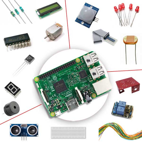 Raspberry Pi 3 Self Learning Kit