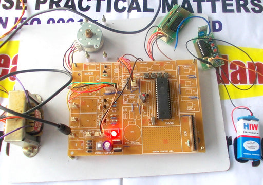 Stepper Motor Control Through RF Link