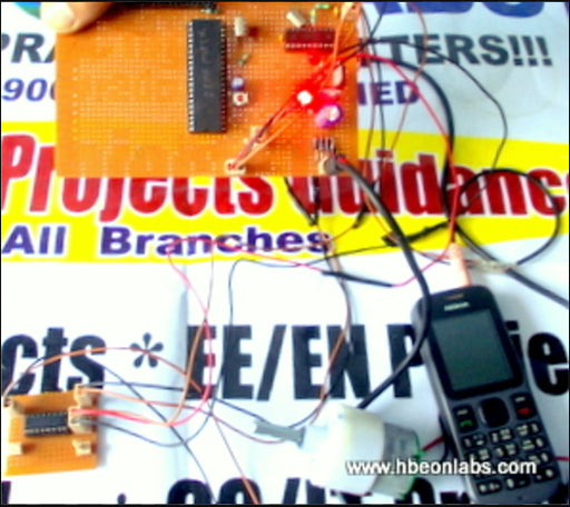 DTMF Based Home Security System