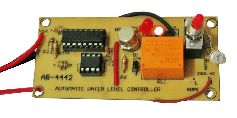 Simple Automatic Water Level Controller