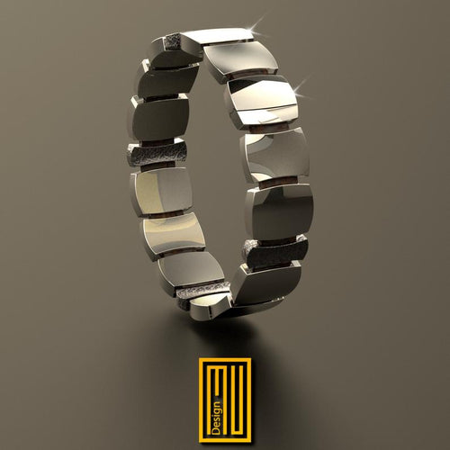 Bracelet 925K Sterling Silver and 14k Gold