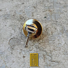 Masonic Gavel Lapel Pin 925K Sterling Silver