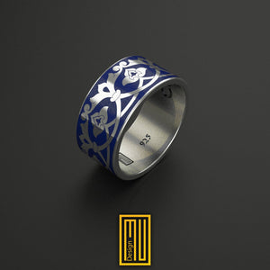 Ring with Seljukian and Ottoman Border Pattern
