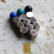 Masonic Bracelet  for Men 925K Solid Sterling Silver And Different Gemstone