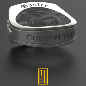 Personalized Laser Engraving for Rings