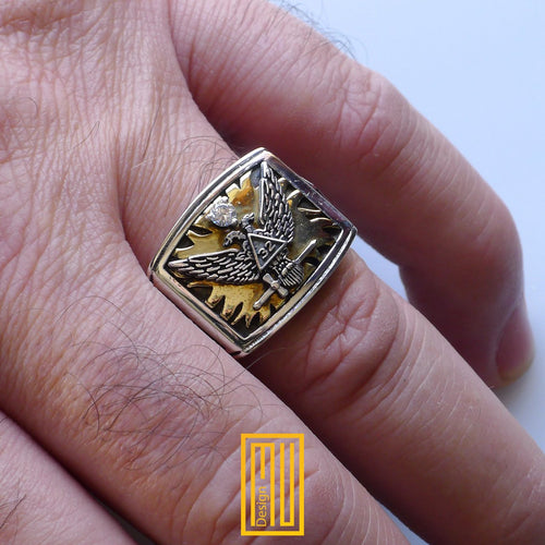Ring for Scottish Rite 32nd Degree
