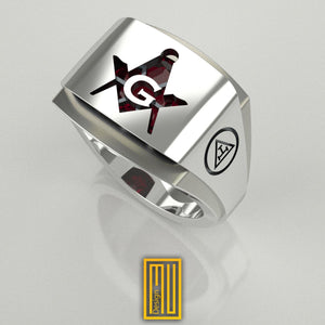 Masonic Ring for York Rite