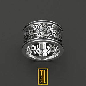 A.A.S.R. 33rd Degree Masonic Ring