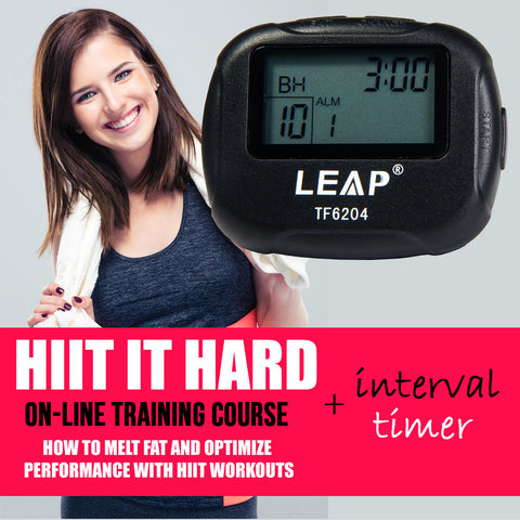 INTERVAL TIMER AND HIGH INTENSITY INTERVAL TRAINING COURSE