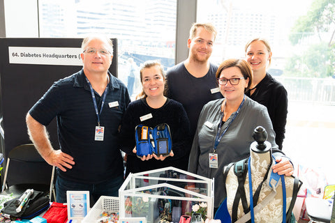 Diabetes Headquarters support Diabetes Victoria at the Bi-annual Diabetes Expo - the largest of its kind in Australia ! (1)