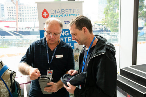 Diabetes Headquarters support Diabetes Victoria at the Bi-annual Diabetes Expo - the largest of its kind in Australia !
