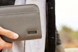 Diabetes HQ - Myabetic - Banting Diabetes Wallet - Charcoal Leatherette