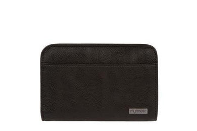 Diabetes HQ - Myabetic - Banting Diabetes Wallet - Black Leatherette