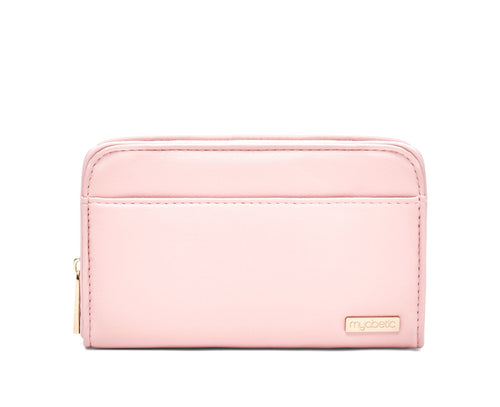 Diabetes HQ - Myabetic - Banting Diabetes Wallet - Pink (Blush) Leatherette
