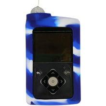 Diabetes HQ - Insulin Pump Cover for Medtronic Pump - Blue / White