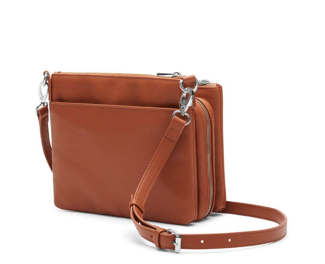 Diabetes HQ - Cherise Diabetes Handbag - Cognac (Burnt Orange)
