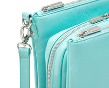 Diabetes HQ - Myabetic - Cherise Diabetes Handbag - Paradise Blue Leatherette