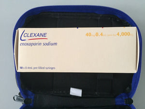 Diabetes HQ - Diabetes Headquarters - HQ - Clexane Medical Travel Bag - Diabeteshq.com.au