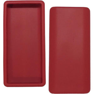 Diabetes HQ - Rockadex - Red Dexcom Silicone Protective Cases for CGM