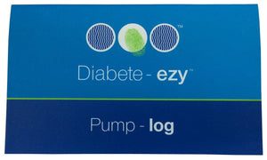 Diabetes HQ - Diabetes Pump Record Books