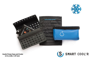 Diabetes HQ - The Smart Cool'R - Diabetes Leather Insulin Pump Cooling Wallet is design to suit the following Type 1 pump : Medtronic 640G_diabeteshq.com.au