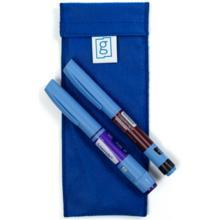 Diabetes HQ - Glucology - 2 x Pen Blue - Diabetes Insulin Cooling Pouch | Wallet