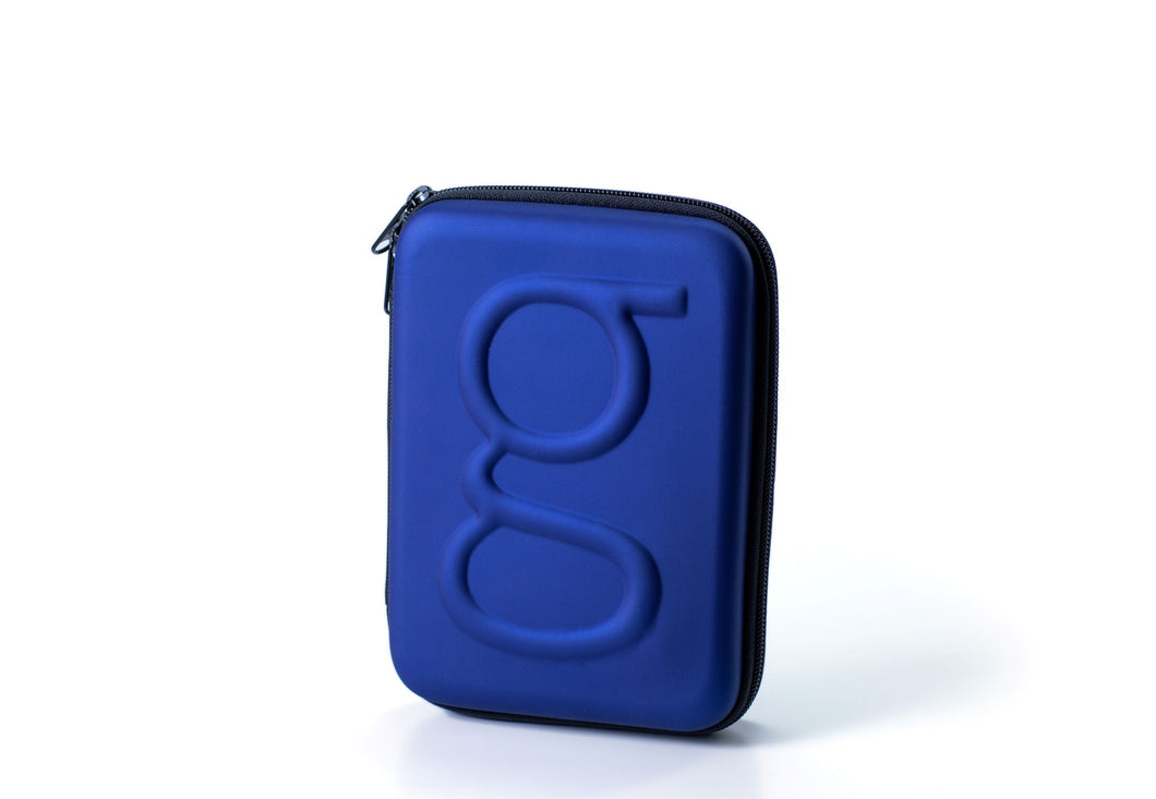 Diabetes HQ - Glucology Diabetes | Classic  Carry Case | Organiser | Blue