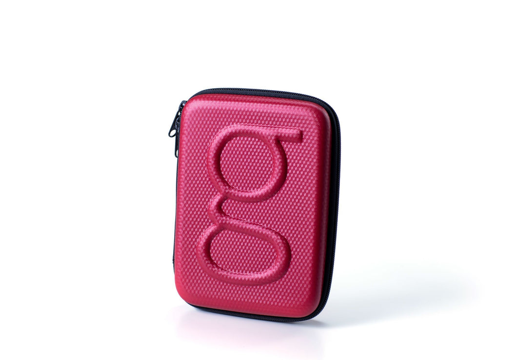 Diabetes HQ - Glucology Diabetes Carry Case | Organiser | Red