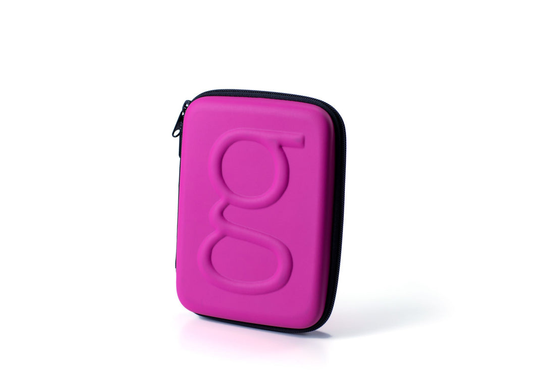 Diabetes HQ - Glucology Diabetes | Classic Carry Case | Organiser | Hot Pink