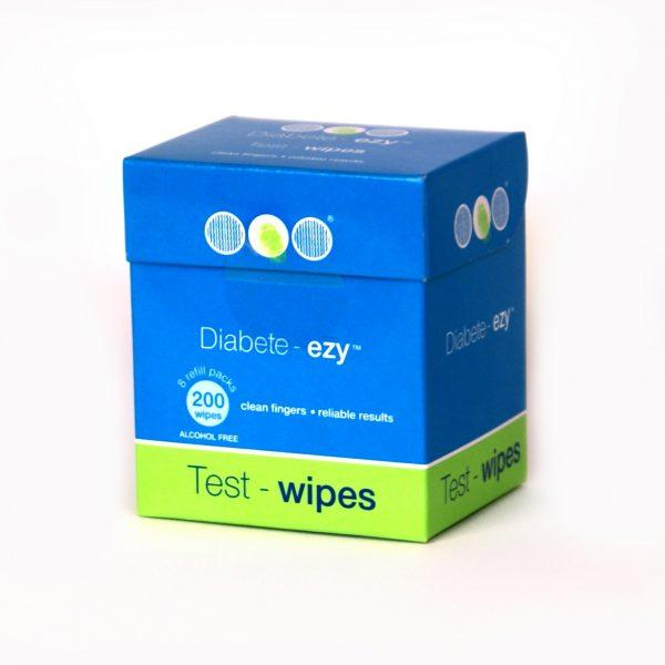 Diabetes HQ - Diabete- Ezy Test Wipe Refill Pack