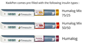 Diabetes HQ - The Timesulin - KwikPen - made by Lilly Pharmaceuticals
