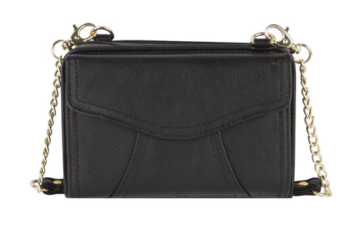 Diabetes HQ - Myabetic - Marie Diabetes Mini Crossbody Handbag - Black
