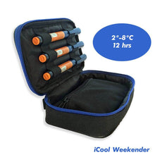 Diabetes HQ - Thyroid - Insulated Medical Travel Bag - iCool Weekender